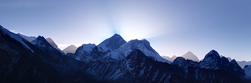 Mt Everest from Gokyo Ri. Photo by Phobus. Creative Commons license (CC BY-NC-ND 2.0)